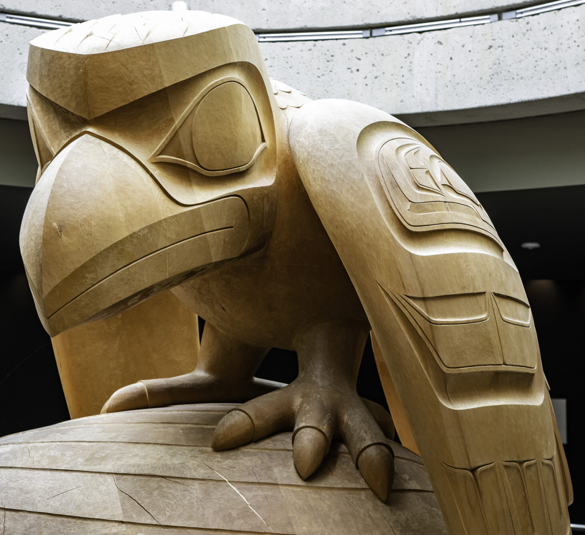 First Nation Carving
